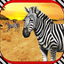 Zebra Horse Games Simulator 3D
