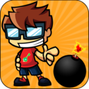 Addictive Action Game : Bombing Dude Mission Key