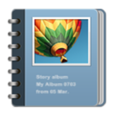 story album app (makes 500 $ a month)