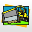 Construction Vehicles Puzzles Android app