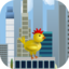 Chicken Hero Rooftop Run