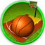 4 addictive games badminton, basketball, hill climb , shooting