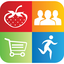 Lifestyle app includes 200+ clean eating recipes plus exercise videos
