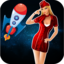 A Space Galaxy Plane Race FREE - Spaceship Racing Dash Crush Race Game For Boys & Girls