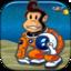 A King Space Monkey Adventure - Assault Kingdom Flight Shooter Game FREE