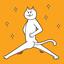 Circle Psycho Cat (Like Ketchapp's dot game)
